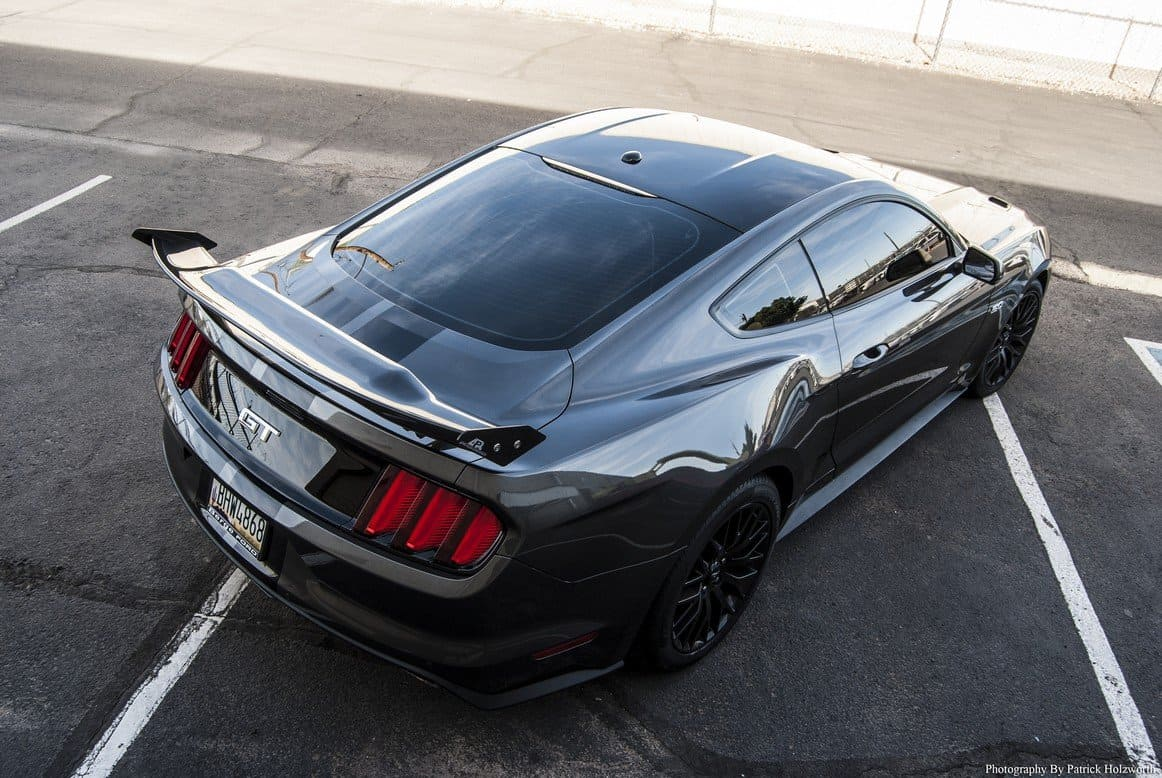 APR Mustang Rear Wing Made from Carbon Fiber ...