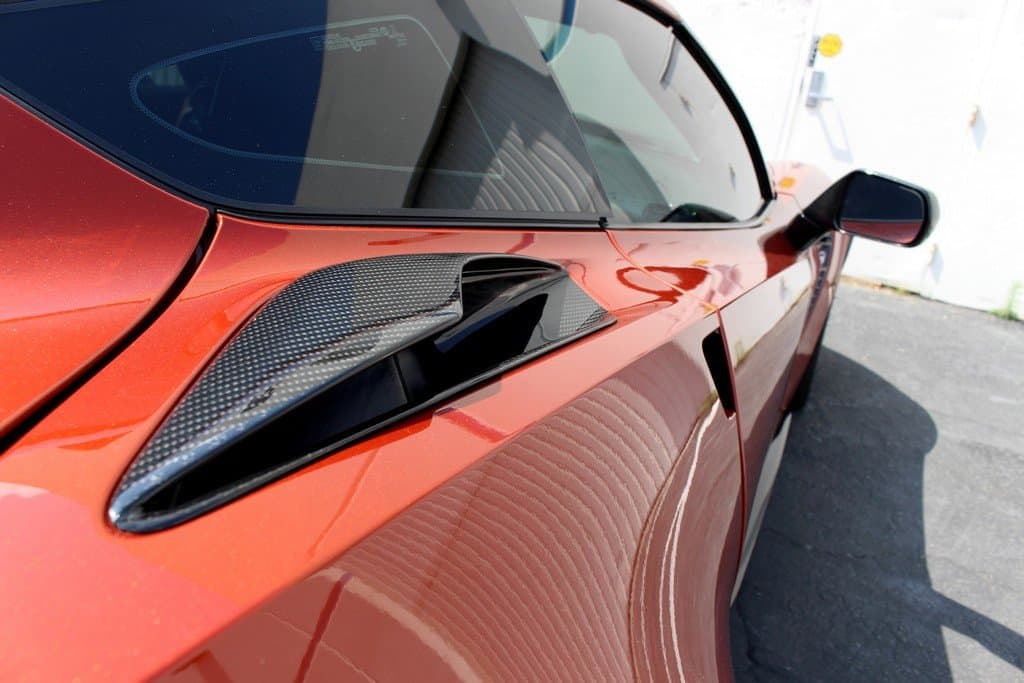C7 Corvette Z06 Style Quarter Panel Intake Vents