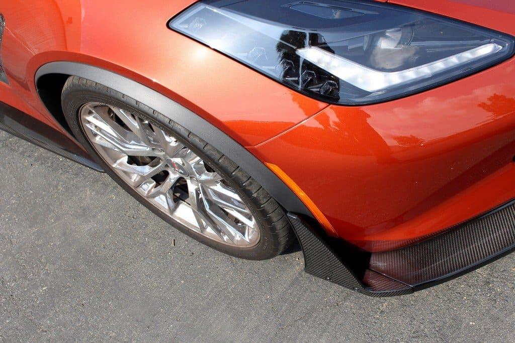 C7 Corvette Z06 APR Track Pack Front Splitter - SouthernCarParts.com