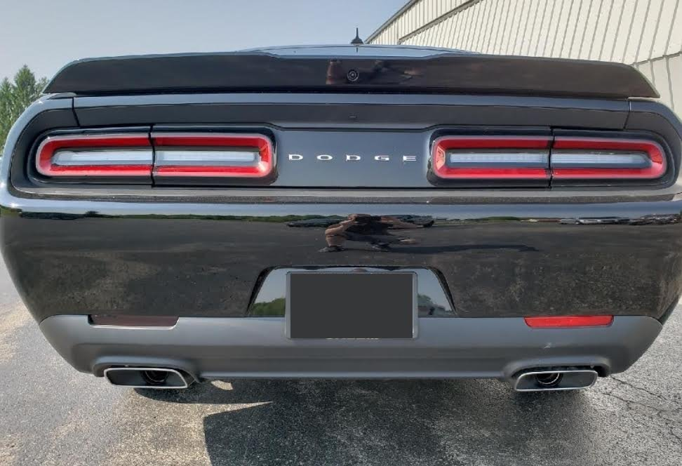 Blacked Out Challenger >> 2015 2019 Dodge Challenger Vinyl Side Marker And Rear Bumper Reflectors Blackout Kit