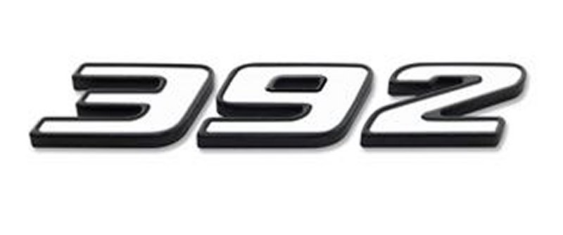 2015-2019 Dodge Challenger Billet 392 Exterior Badge