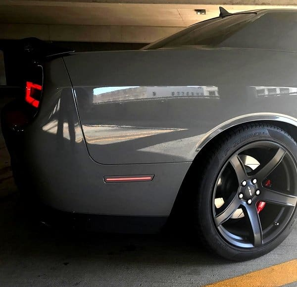 2015-2017 Dodge Challenger Clear and Tint Side Marker Lights - SouthernCarParts.com