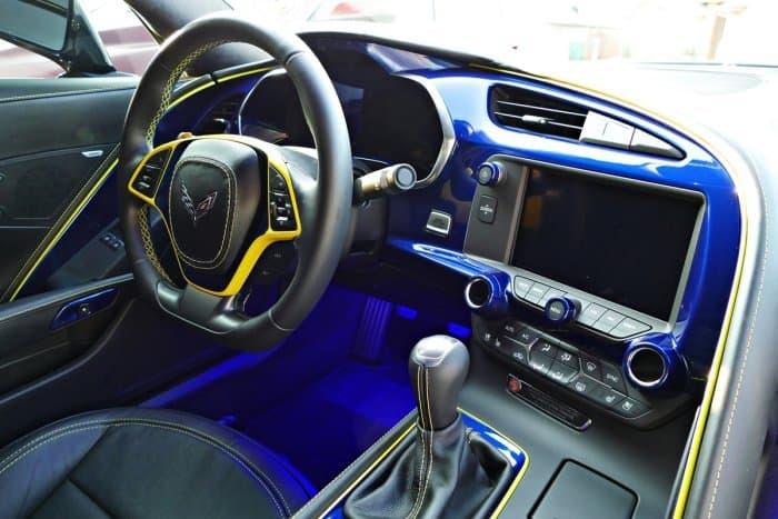 2014-2019 C7 Corvette Stingray Painted Dash Cluster