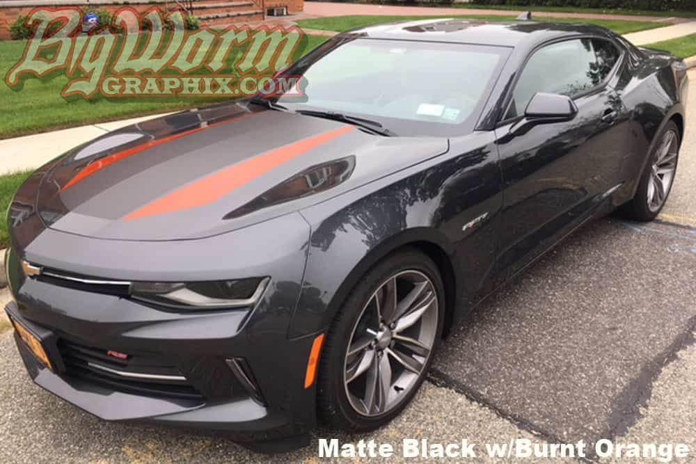 2016 2018 Camaro 50th Anniversary Style Stripes Kit