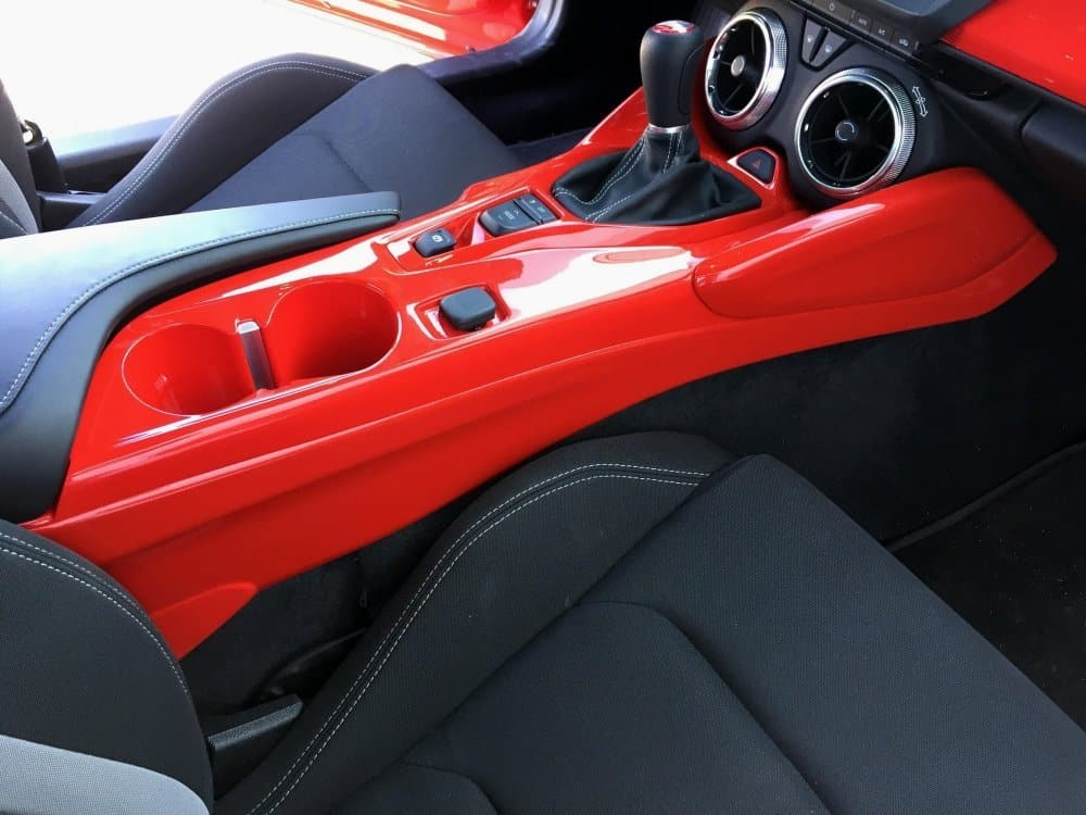 2016 2018 Camaro Center Console Side Panels
