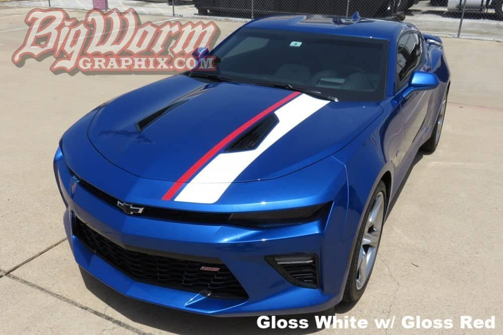 1967 Camaro Rs >> 2016-2018 Camaro Offset Stripe 2-Color Kit - SouthernCarParts.com