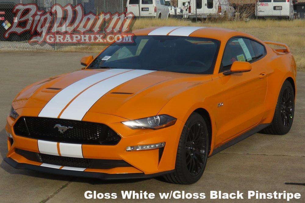 2018 Mustang Wide Twin Full Length Stripes Kit