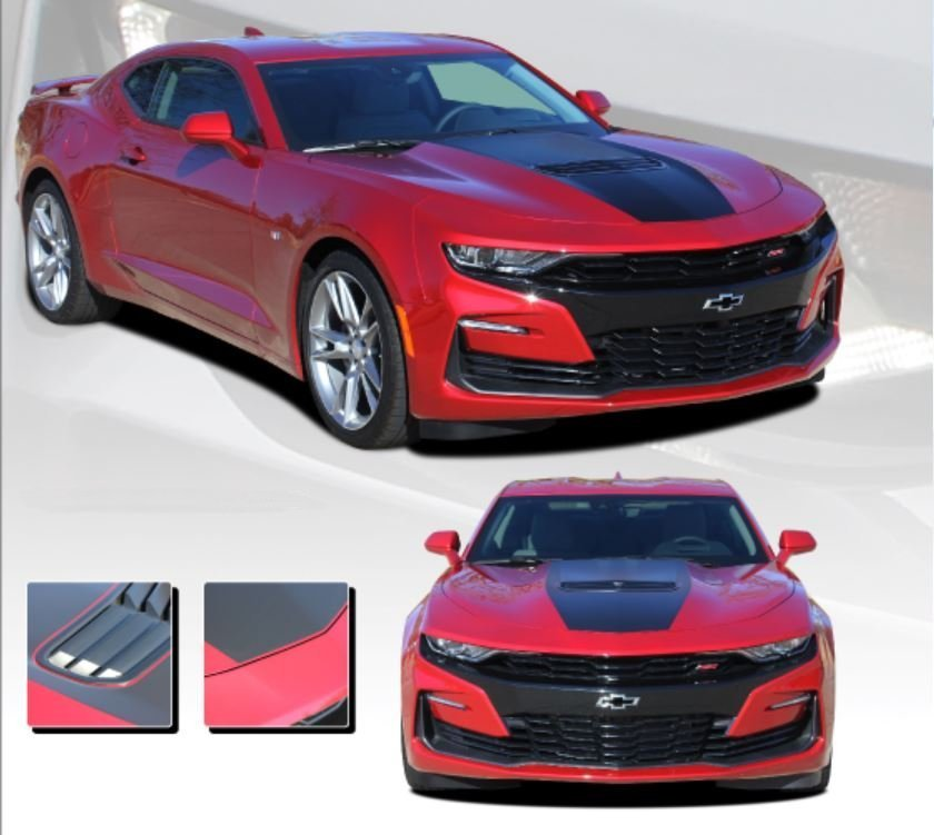 2019 Camaro Shock Hood Stripe Kit Southercar Parts Com
