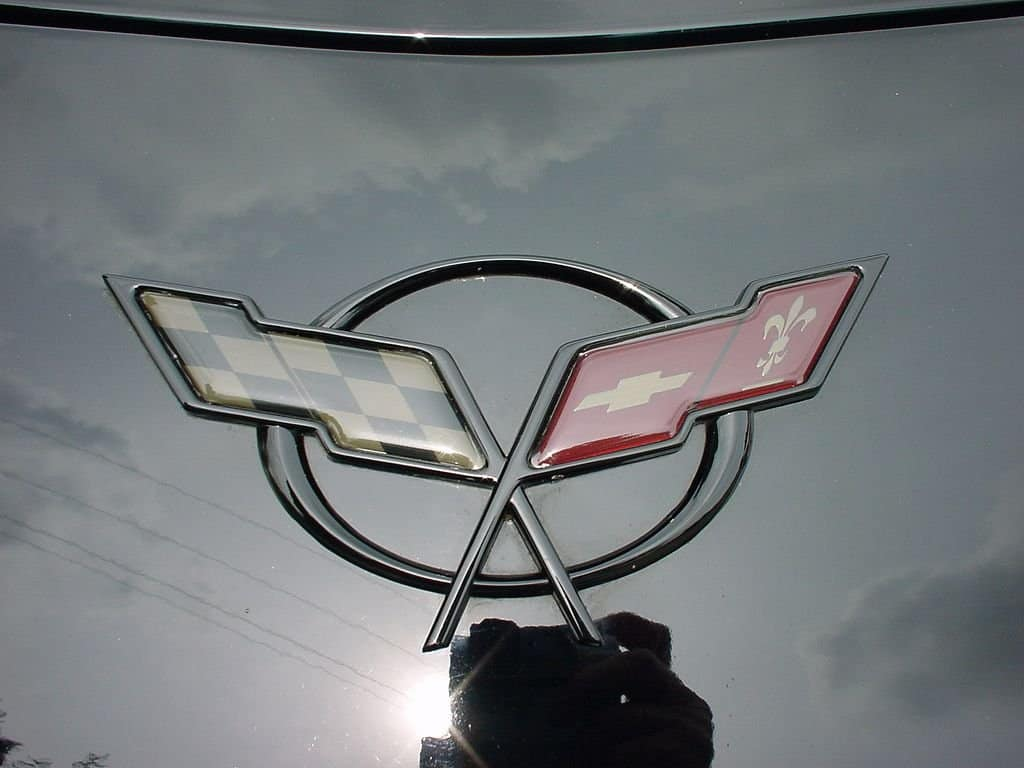 C5 Corvette Emblem Blackout Kit Southerncarparts