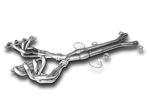 C5 Corvette Kooks Race Header and X-Pipe - SouthernCarParts com