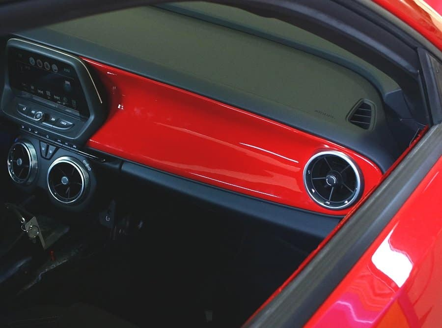 2016 2018 Camaro Painted Dash Overlay