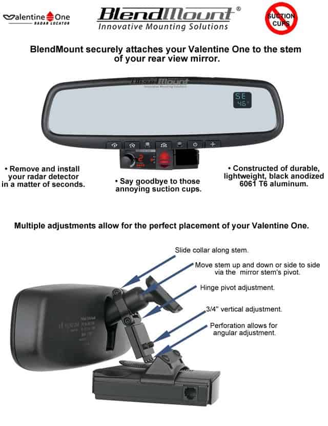 nissan 350z and 370z radar detector blendmount rh southerncarparts com Curved Mirrors Ray Diagrams Lens Diagram