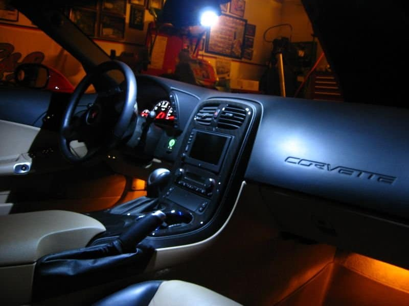 C6 Corvette Led Map Lighting