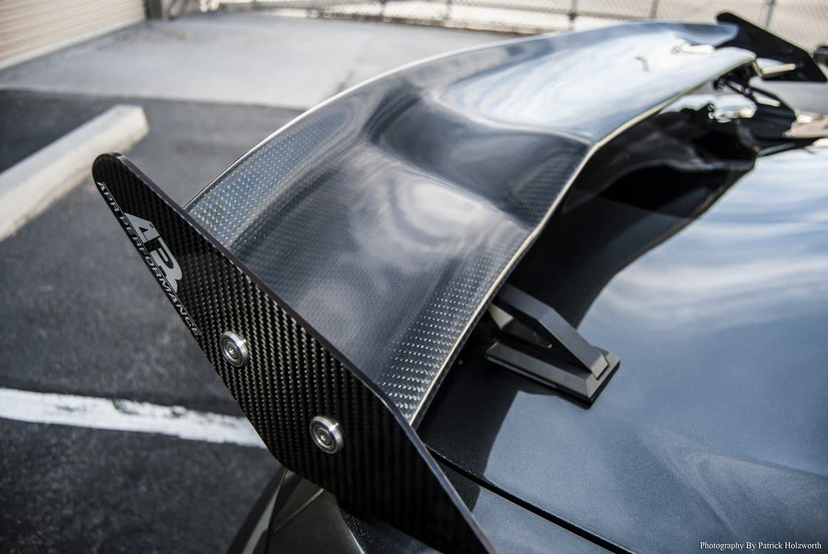 Apr Mustang Rear Wing Made From Carbon Fiber Southerncarparts Com
