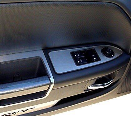 2008-2014 Dodge Challenger Stainless Door Handle Pulls & Challenger Door Pull Surrounds