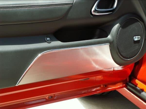 & 5th Gen Camaro Door Panel Kick Plates - SouthernCarParts.com