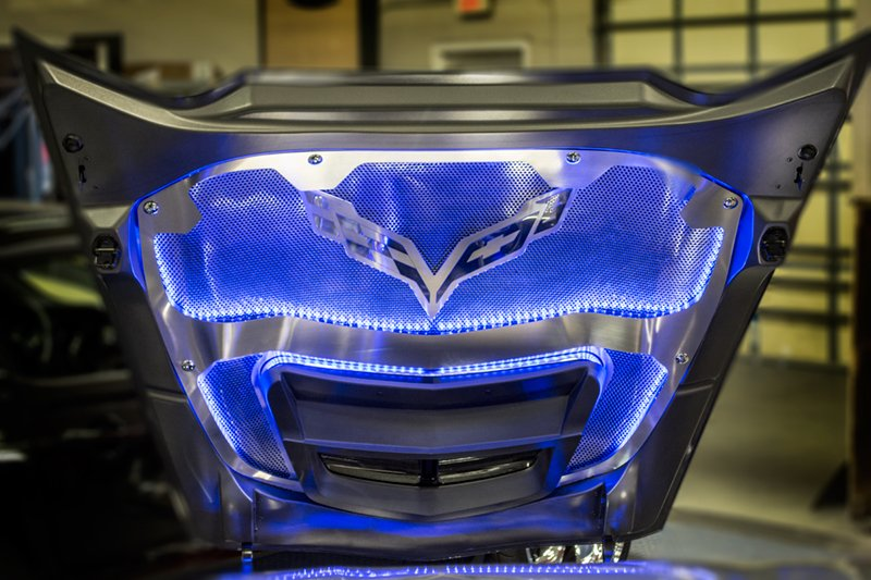 C7 Corvette Stingray Z06 Illuminated Hood Trim