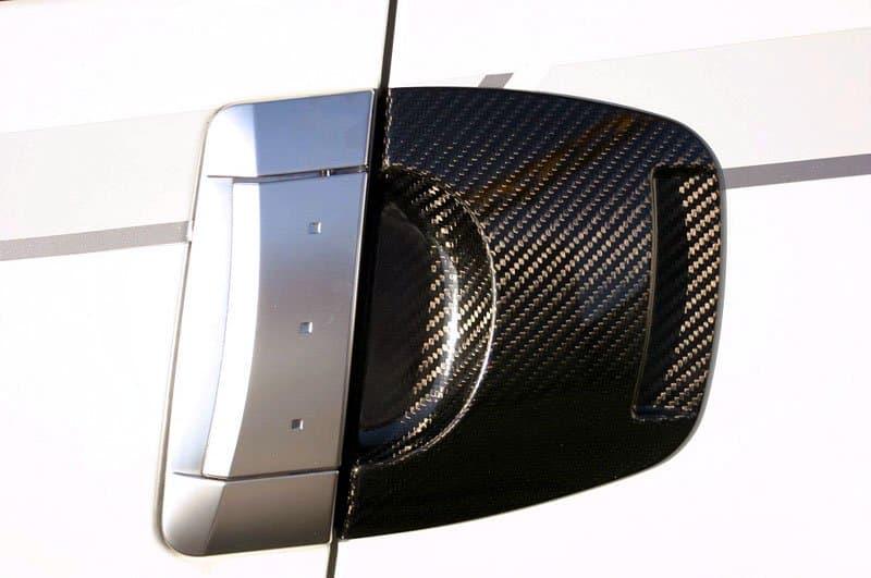 350z Dry Carbon Door Handle 350z Door Handle Surround