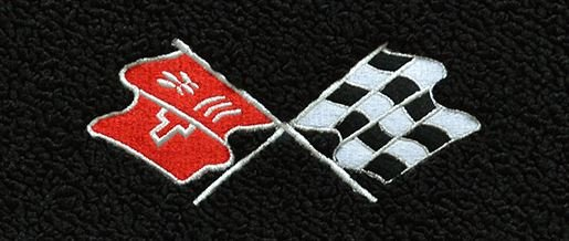 1978 C3 Corvette Floor Mats With Embroidered Logo