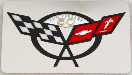 C5 1997-2004 Corvette 50th Anniversary Exhaust Plate