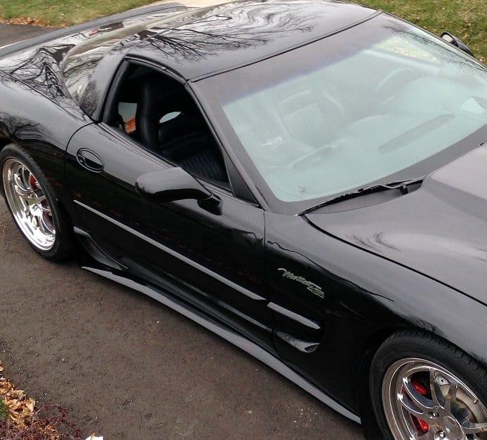 C5 Corvette ZR1 Style Side Skirts Package ...