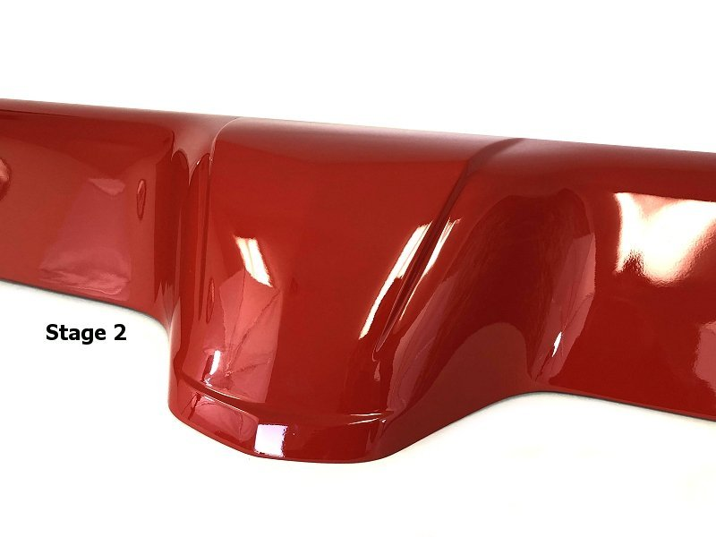 Orange 2015 Mustang >> C6 Corvette Coupe Painted Waterfall Extension - SouthernCarParts.com