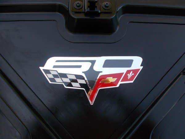 C6 Grand Sport >> C6 Corvette Convertible Inside Trunk Lid Decals ...