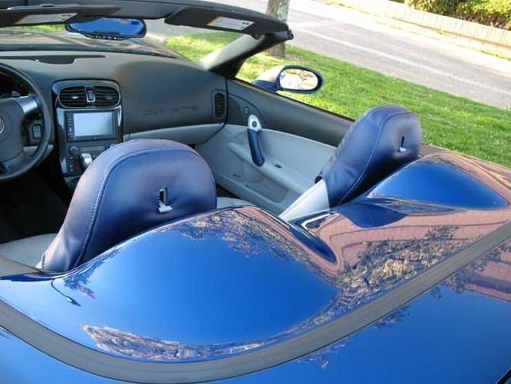 C6 SpeedLingerie Head Rest Cover