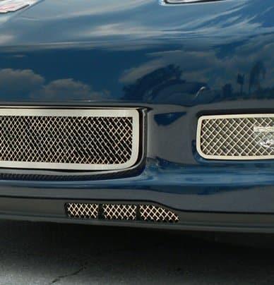 2013 Corvette Z06 >> C6 2006 2013 Corvette Z06 Grand Sport Laser Air Dam Grilles