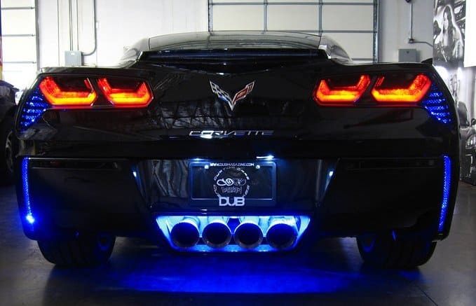 2014-2019 C7 Corvette LED Rear Bumper Fascia Kit