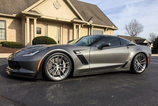 C7 Corvette Lg Motorsports Drop Spindles