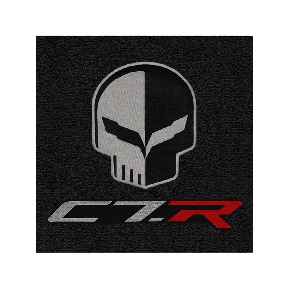 C7 Corvette Lloyd Cargo Mats W Jake C7r Logo
