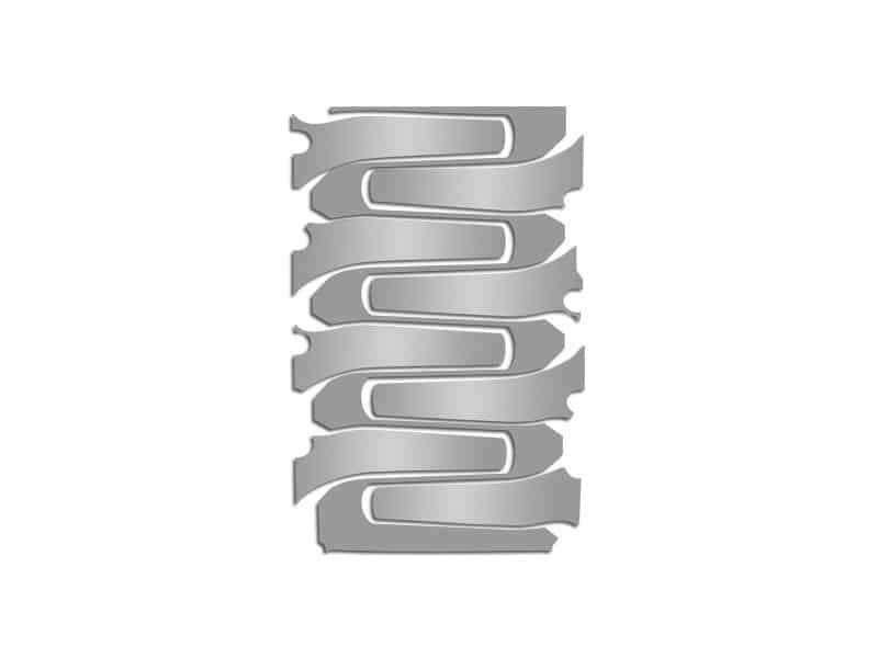 2014-2019 C7 Corvette Stainless Steel Plenum Cover Overlays