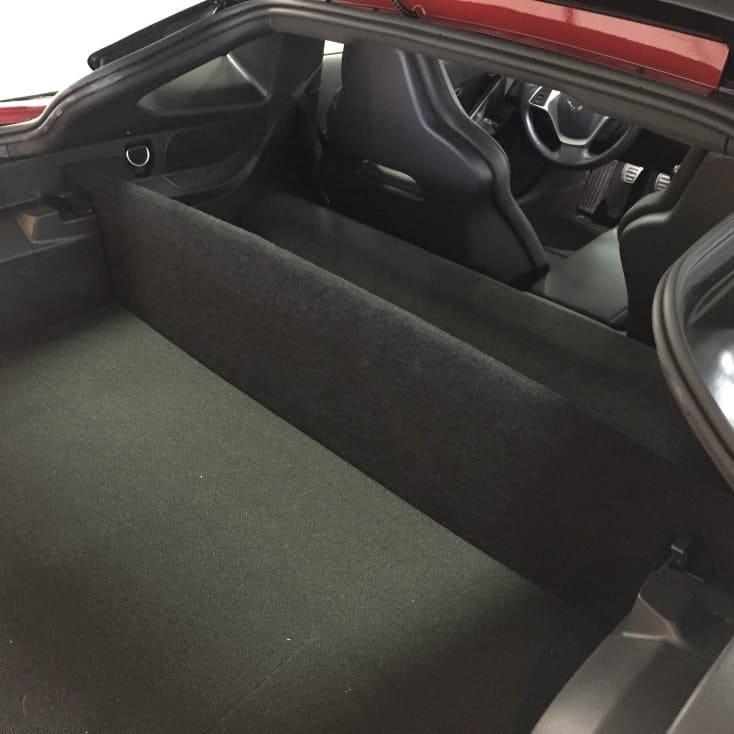 C Corvette Stingray Coupe Trunk Partition