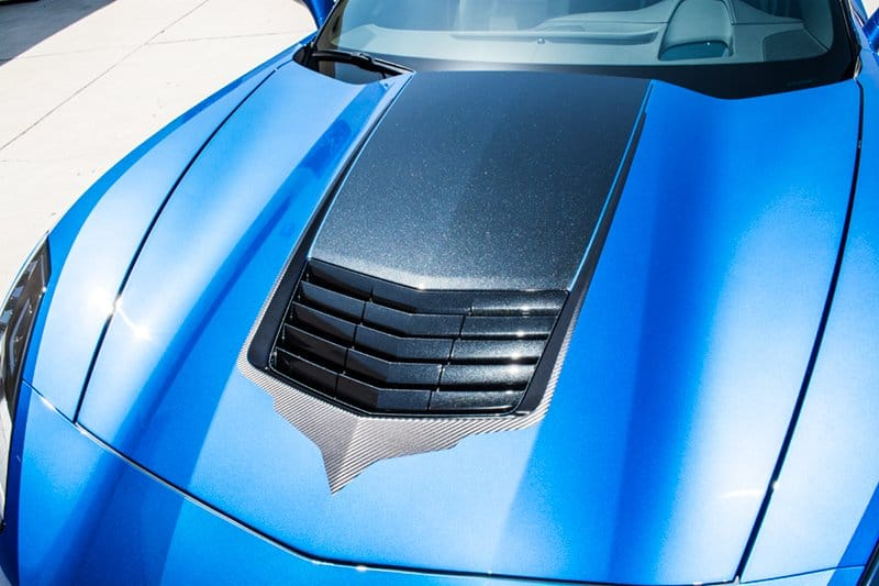 C7 Corvette Stingray Hood Vent Vinyl Graphic ...