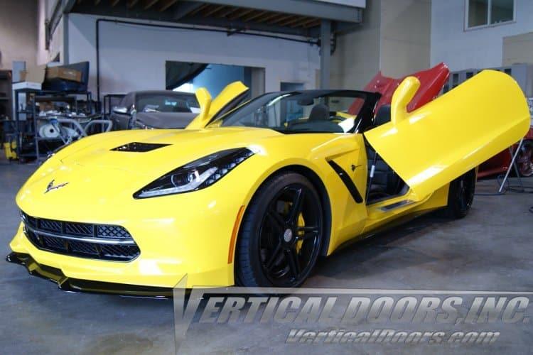 C7 Corvette Stingray Vertical Lambo Style Doors Southerncarparts Com