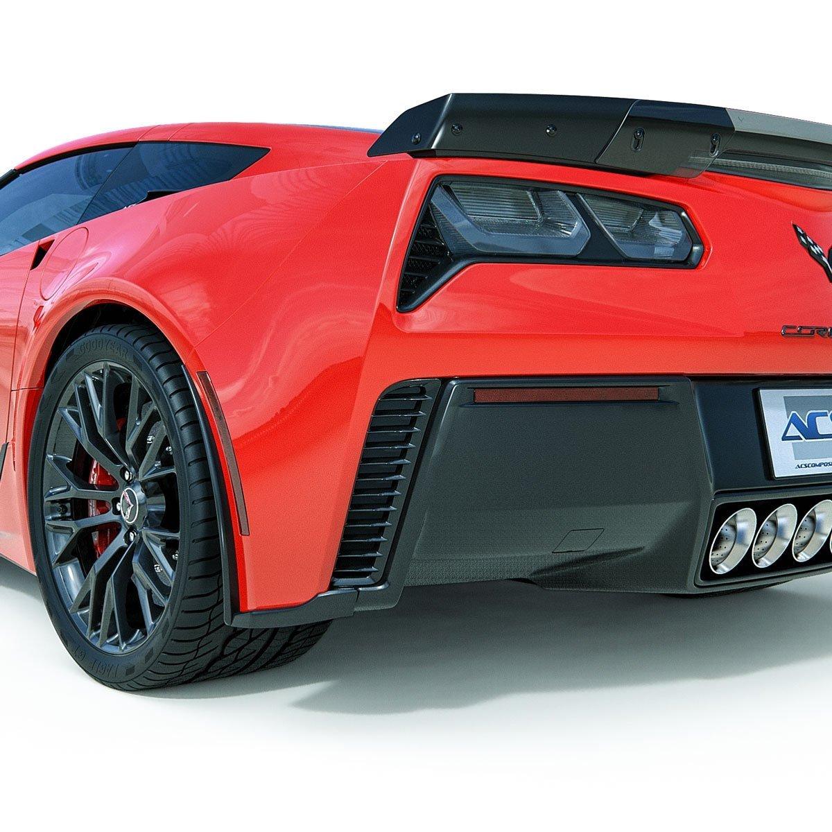 C7 Corvette Z06 Rear Fascia Extensions Southerncarparts Com