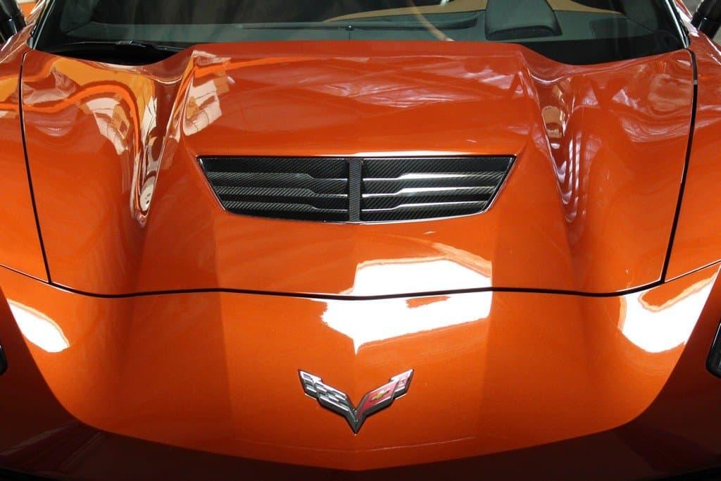 C7 Z06 Corvette Apr Carbon Fiber Hood Vent