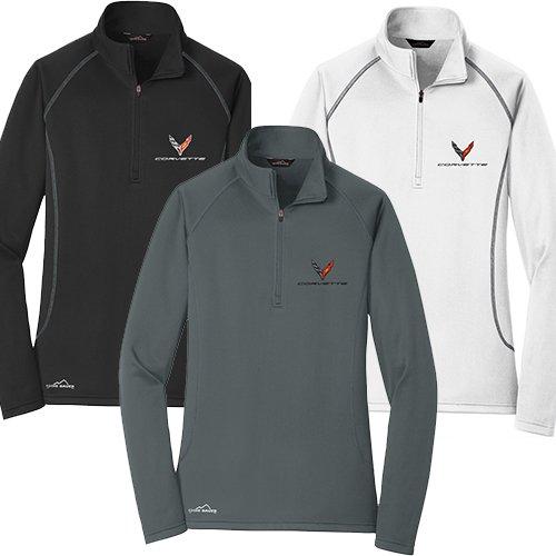 X-Large Charcoal C8 Corvette Next Generation Carbon Badge T-Shirt