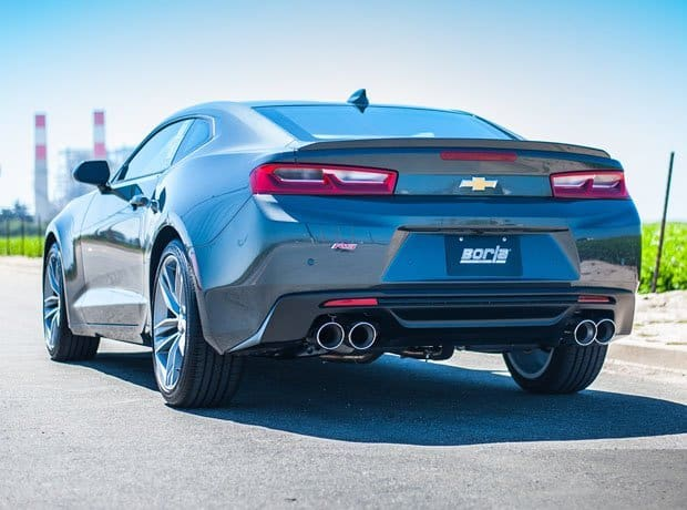2016 2017 Camaro Ss W Dual Mode Exhaust Npp Borla Cat Back