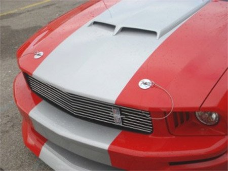 2005 2017 Ford Mustang Hood Pin Appearance Package By Cdc