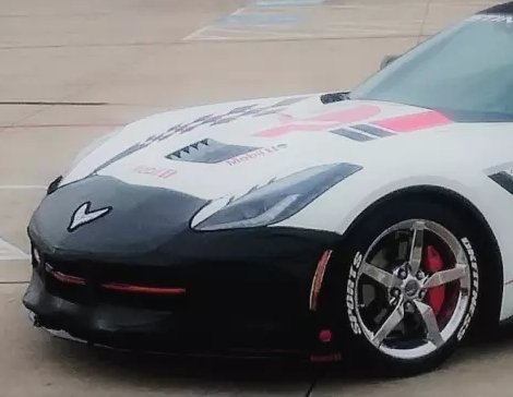 Colgan Bumper Bra On Corvette Copy
