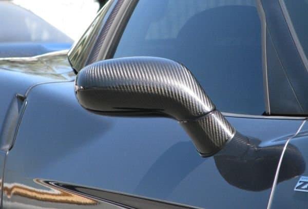 C6 Corvette Carbon Fiber Mirrors Southerncarparts Com