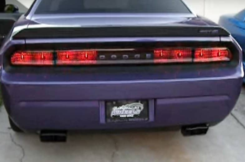 Car Tail Lights >> 2008 2014 Dodge Challenger Sequential Tail Lights Southerncarparts Com