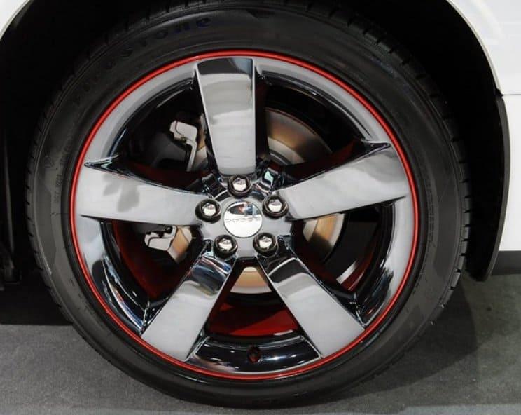 Dodge Challenger Wheel Bands on 1997 Dodge Challenger