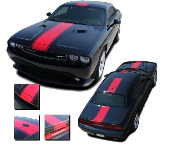 Dodge Challenger Finish Line Stripe Kit