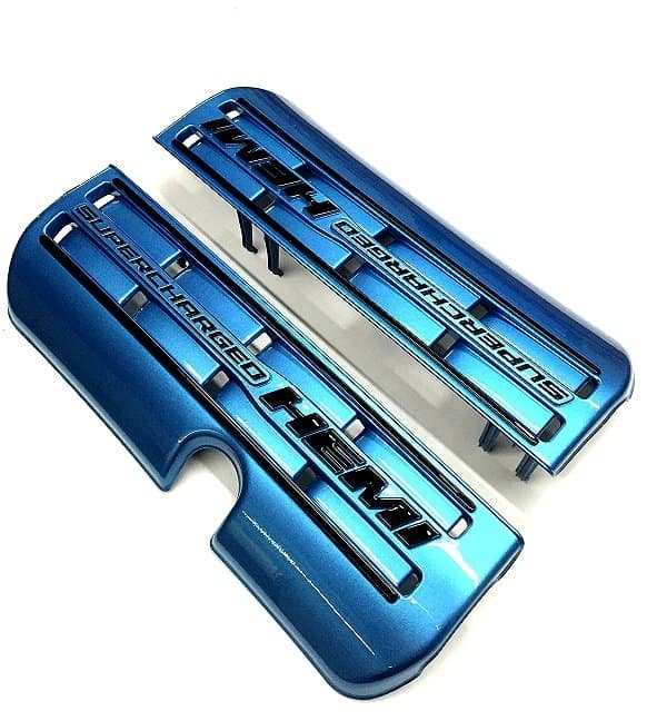 Challenger Scat Pack Srt Painted Engine Fuel Rail Covers