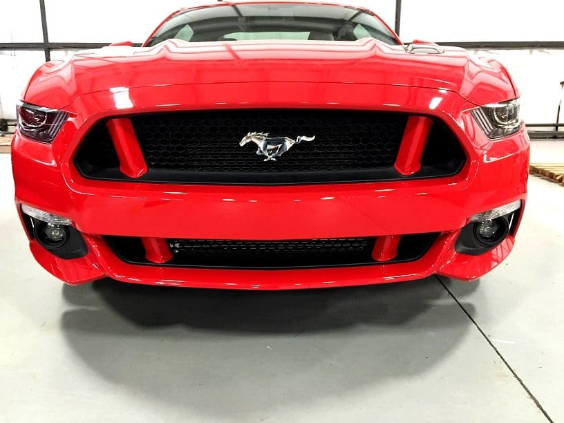 f0c8442ebbf3 2015-2017 Ford Mustang Front Grille Pillar Post Covers Package - Painted