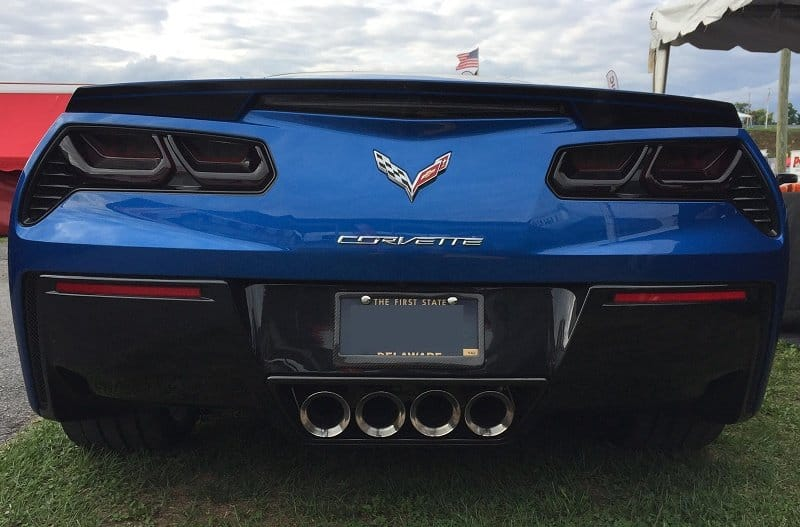 C7 Corvette Molded Acrylic Taillight Blackouts Lens Package