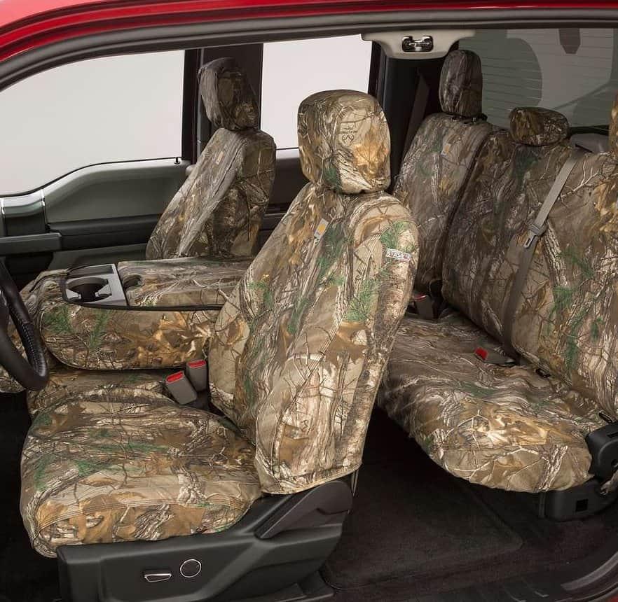 2016 2017 Toyota Tacoma Covercraft Carhartt Realtree Camo Seat Covers Southerncarparts Com